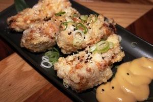 Chicken Karaage at Bincho Brisbane