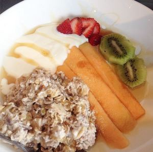 Muesli at The Edge Restaurant Montville